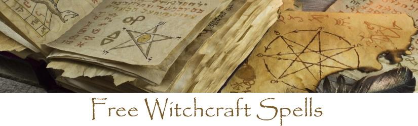 Free Witchcraft Spells