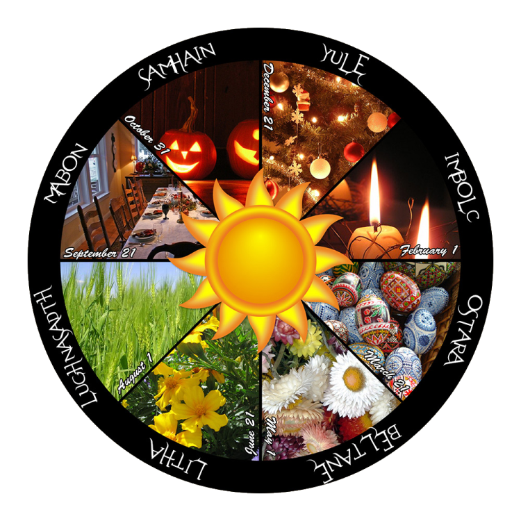 Wiccan Sabbats and Pagan Holidays